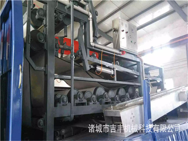 帶式污泥脫水機結構和選型