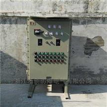 户外防爆配电箱带防雨罩 防爆控制箱