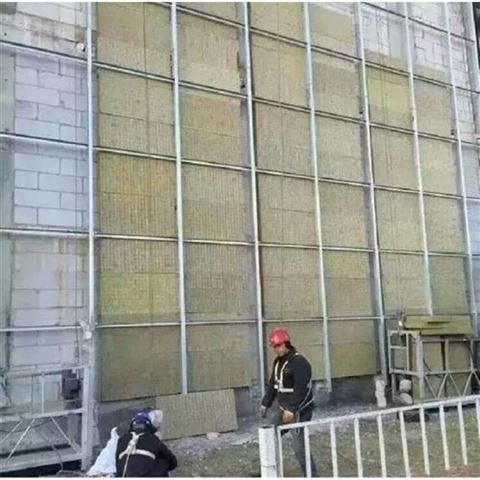 廊坊供应防火阻燃隔音机制岩棉板