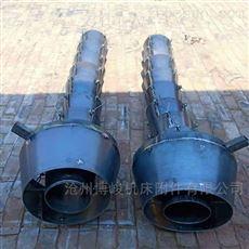 散装机卸料耐磨铁串落筒伸缩溜管规格
