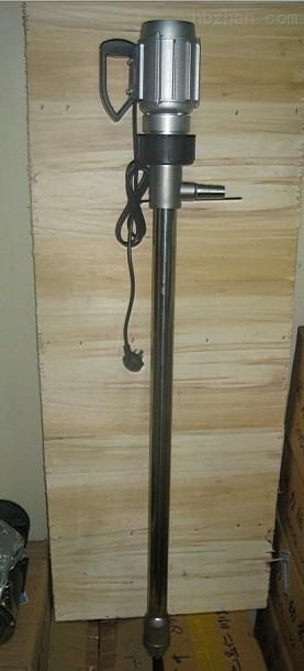 长轴电动油桶泵