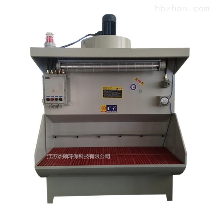 自動噴淋濕式打磨吸塵工作臺