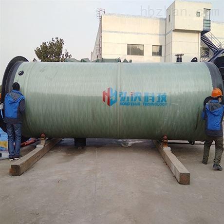 安徽一體化雨水提升泵站 順利完工 弘泱科技