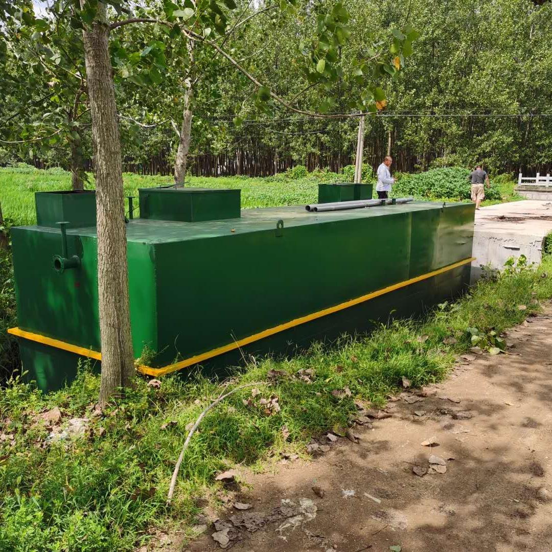 MBBR一体化污水处理设备阜阳站
