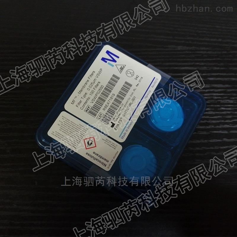密理博孔径0.025um混合纤维素酯表面滤膜