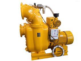 带切割式高吸程污水自吸泵