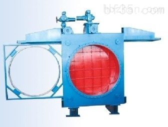 电动敞开式盲板阀