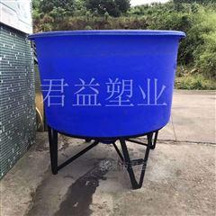 鱼饵料孵化桶 带底座泥鳅繁育桶