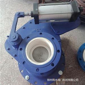 气动陶瓷旋转式摆动阀