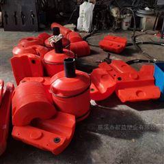 直径400长600孔径160管道塑料浮筒