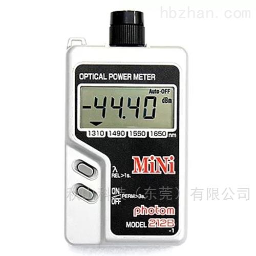 日本graytechnos光功率计MINI212B
