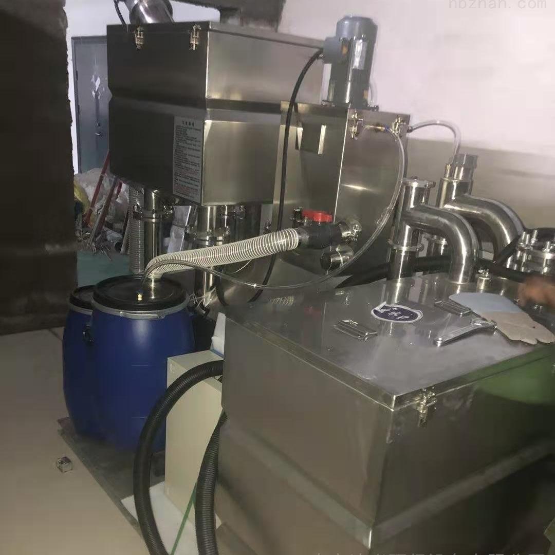 餐饮油水分离器一体化隔油提升设备