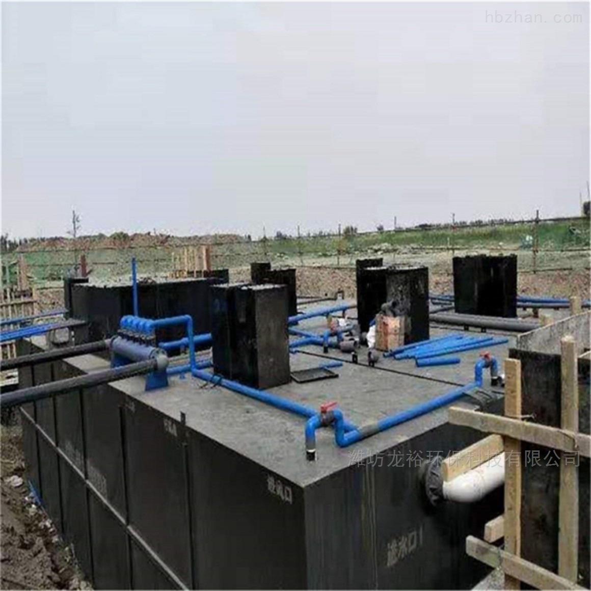 碳钢一体化生活污水处理设备