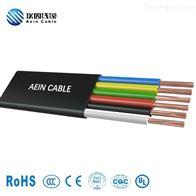 H05VVH2-F 柔性耐磨扁电缆 CE认证