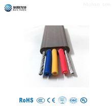 柔性带镀锌钢丝抗拉扁电缆