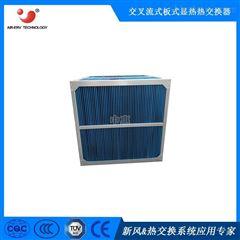 六边形600*300*400食品、药材烘干热回收板式换热芯体