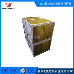 正方形金色环氧树脂铝箔芯体 耐腐蚀 客户工况定制