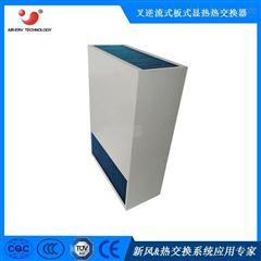 换热器气气板式热交换芯体