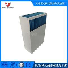 长方形气气散热芯体 板式换热器 机柜散热
