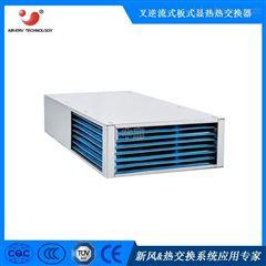 长方形高效节能散热余热回收逆流式热交换芯体