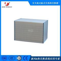 纤维纸正方形全热热交换器 空调窗机余热回收