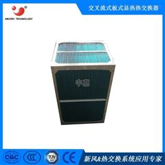 正方形板式热交换芯体畜牧业能量回收器通风设备