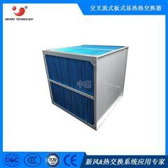 正方形显热铝箔换热器涂布机烘干余热回收设备