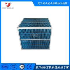 正方形炼钢厂通风用铝箔换热器 通风换气