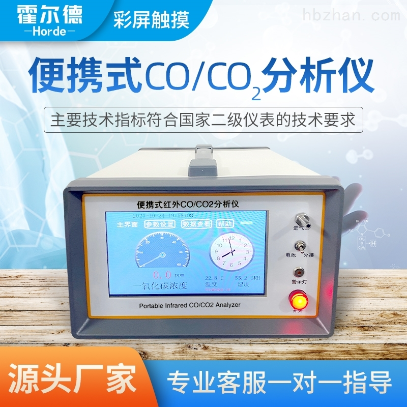 便携式CO/CO2分析仪