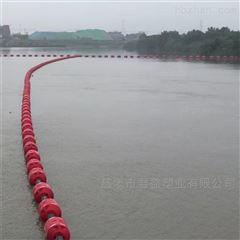 汛期塑料拦汛网浮漂桶