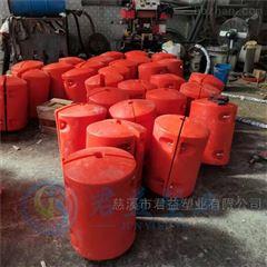 水电站浮筒自浮升降式塑料拦污排