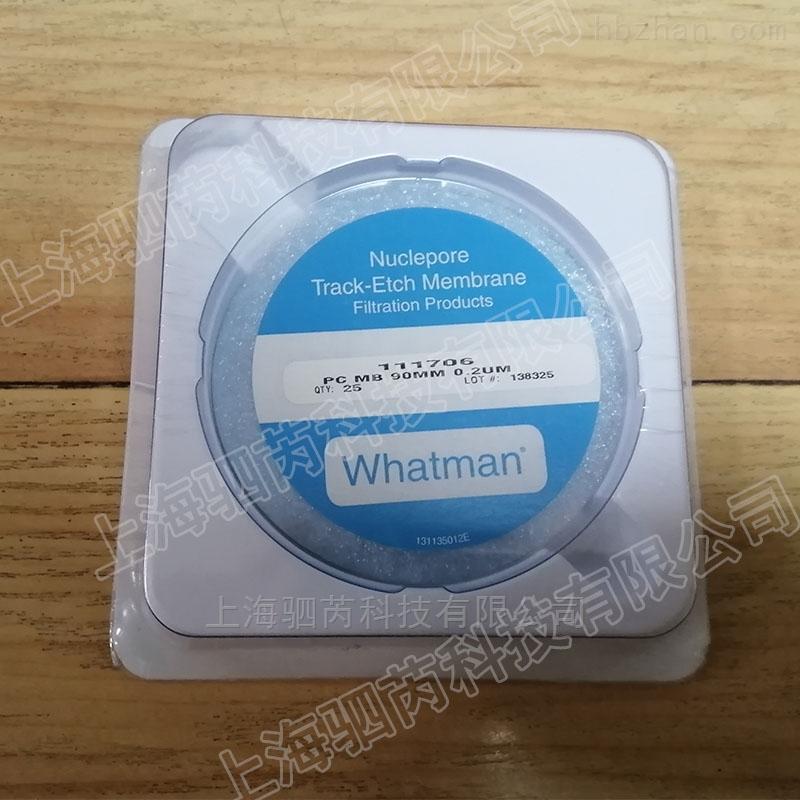 英国沃特曼圆形聚碳酸酯水系滤膜 PC膜