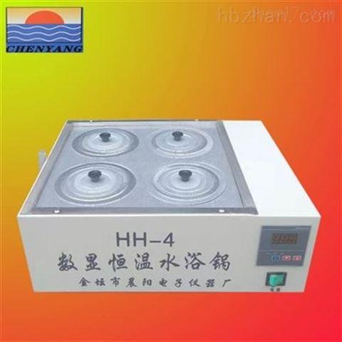 晨阳生产HH-4双列四孔水浴锅