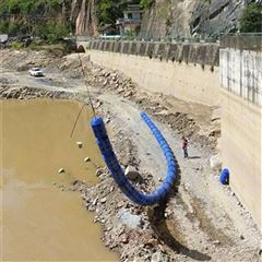 水电站拦污屏障 水上塑料浮圈 聚乙烯浮体