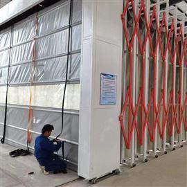 可定制常州做移动式伸缩房厂家 喷漆废气处理装置
