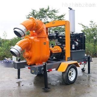 移动排水防汛泵车
