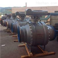 Q367F大口径固定式全焊接球阀