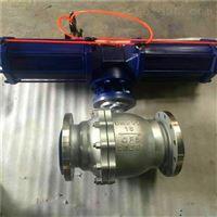 AW气缸单作用自动复位球阀