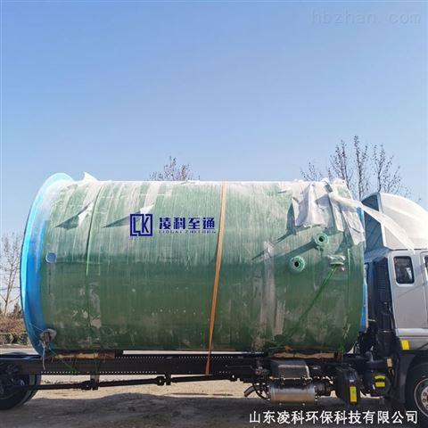 厂家定制一体化提升泵站