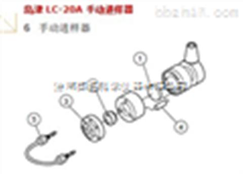 岛津LC-20A手动进样器(货号:228-32210-93)