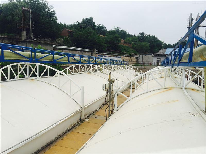 污水处理池加盖收集