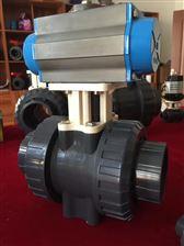 Q641F/Q661FUPVC气动塑料球阀