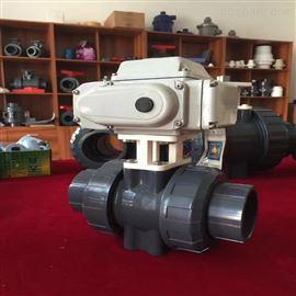Q961F电动塑料球阀(RPP.UPVC,CPVC,PVDF)