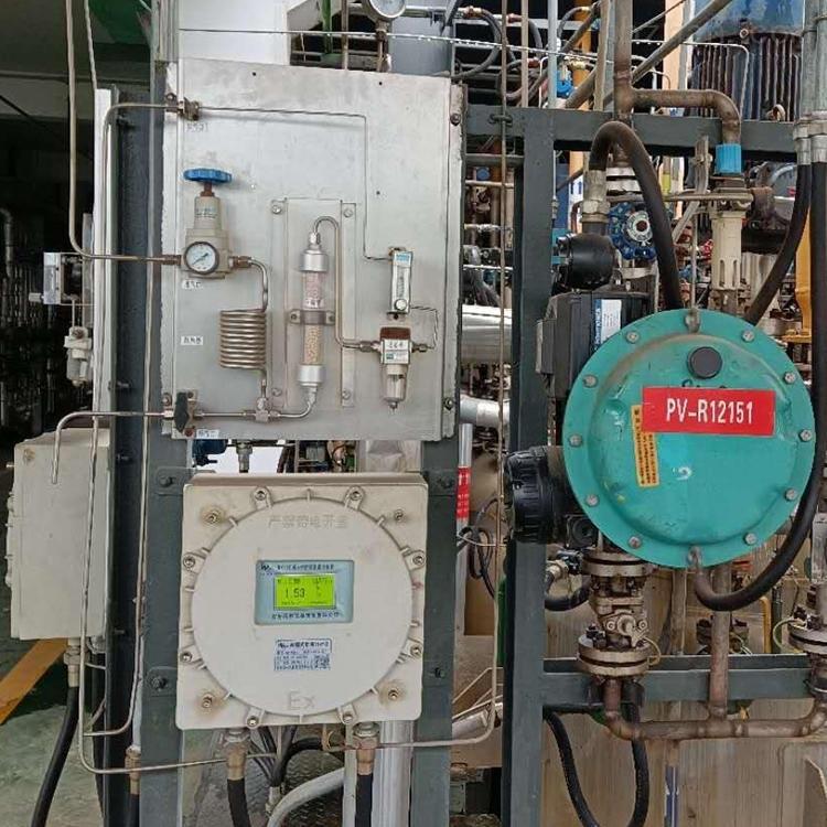 反应釜氧含量监测