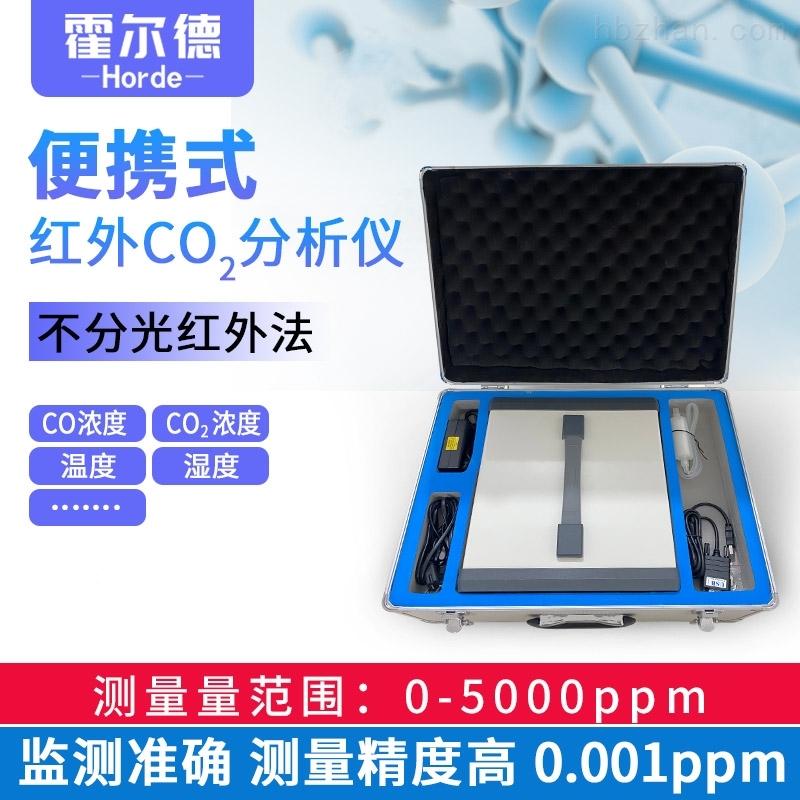 便携式CO2气体分析仪