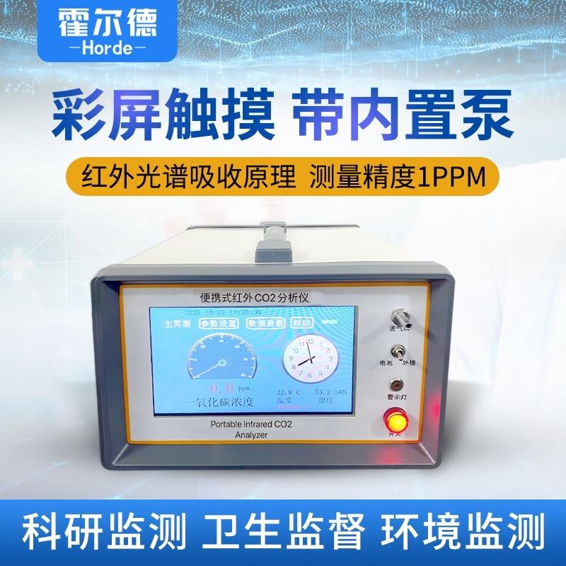 便携式二氧化碳气体分析仪