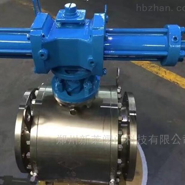Q741F-100P液动不锈钢锻钢球阀