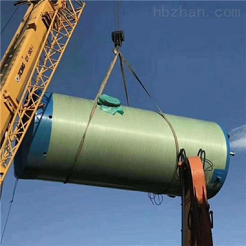 润平供水 城市生物雨水收集 一体化预制泵站