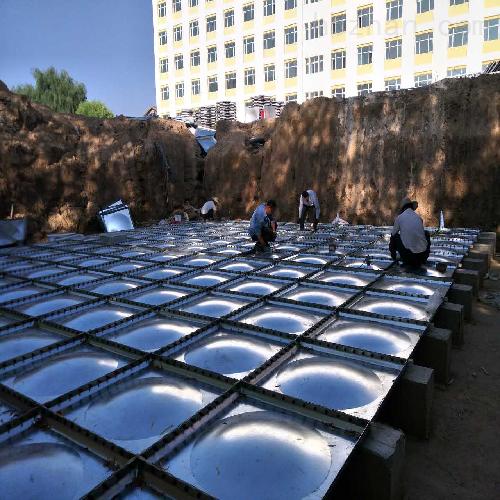 润平供水 沥青防腐 抗浮式箱泵一体化