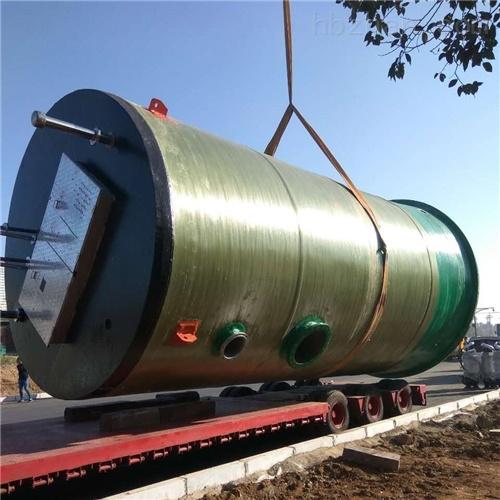 智能提升城市雨水收集 一体化预制泵站